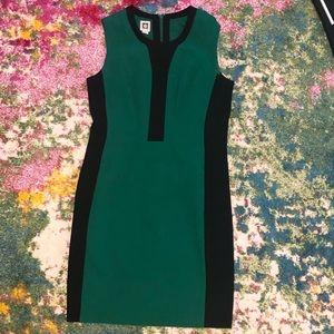 Gorgeous Anne Klein Size 12 Green Dress